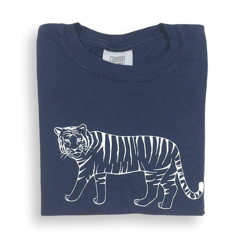 Tiger Short Sleeve Tee - Honey Bee Tees - 7