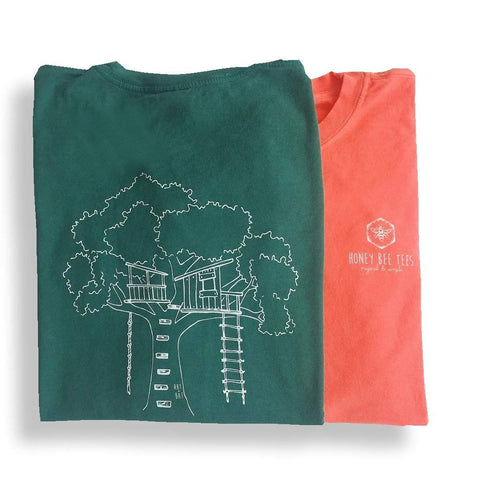 Tree House Adult Long Sleeve Tee