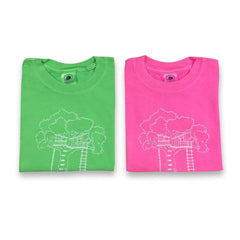 Tree House Short Sleeve Tee - Honey Bee Tees - 1