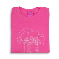 Tree House Short Sleeve Tee - Honey Bee Tees - 3