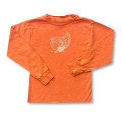 Turkey Orange Long Sleeve Tee - Honey Bee Tees - 2