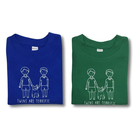 Twin Brothers Short Sleeve Tee