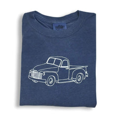 Vintage Truck Long Sleeve Tee - Honey Bee Tees - 1