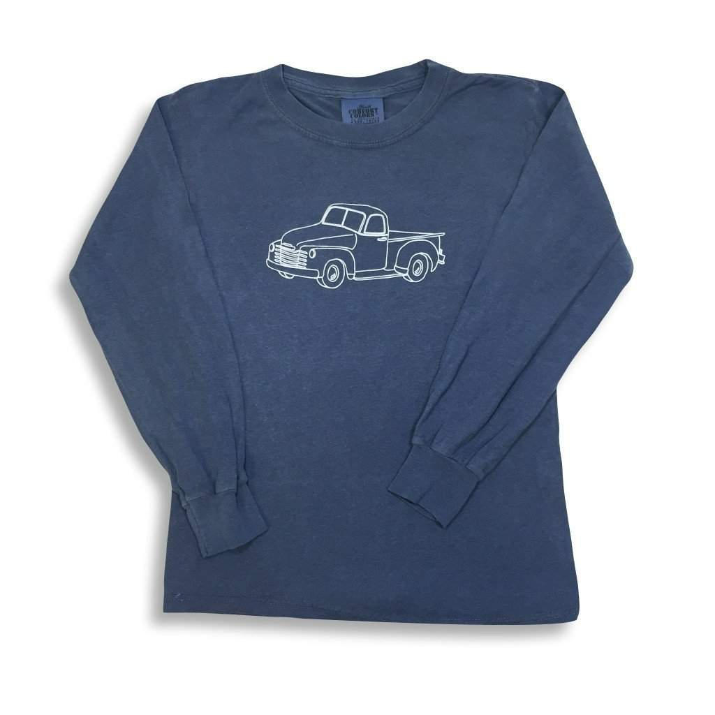 Vintage Truck Long Sleeve Tee - Honey Bee Tees - 2