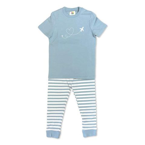 Soaring Love Short Sleeve Pajamas