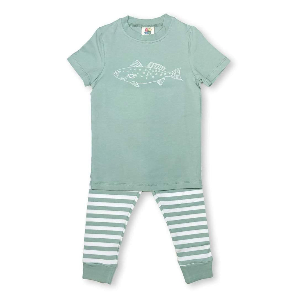 Short Sleeve Speckled Trout Sleepwear