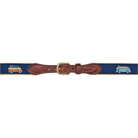 Surf Van Leather Belt
