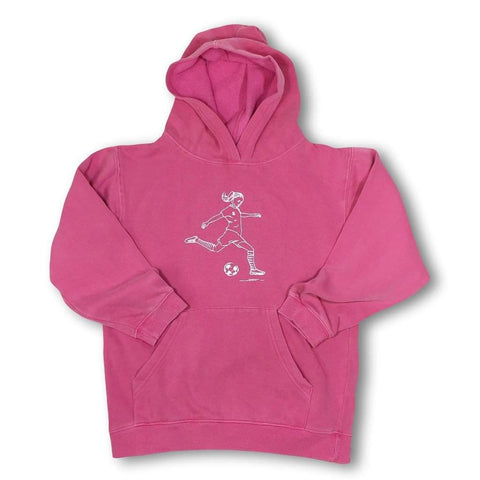 Soccer Girl Hooded Sweatshirt