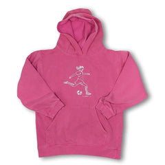 Soccer Girl Hooded Sweatshirt - Honey Bee Tees - 3
