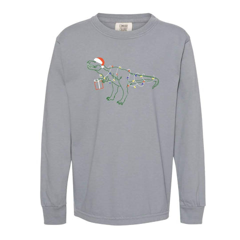 Tangled Up T-Rex Long Sleeve Tee