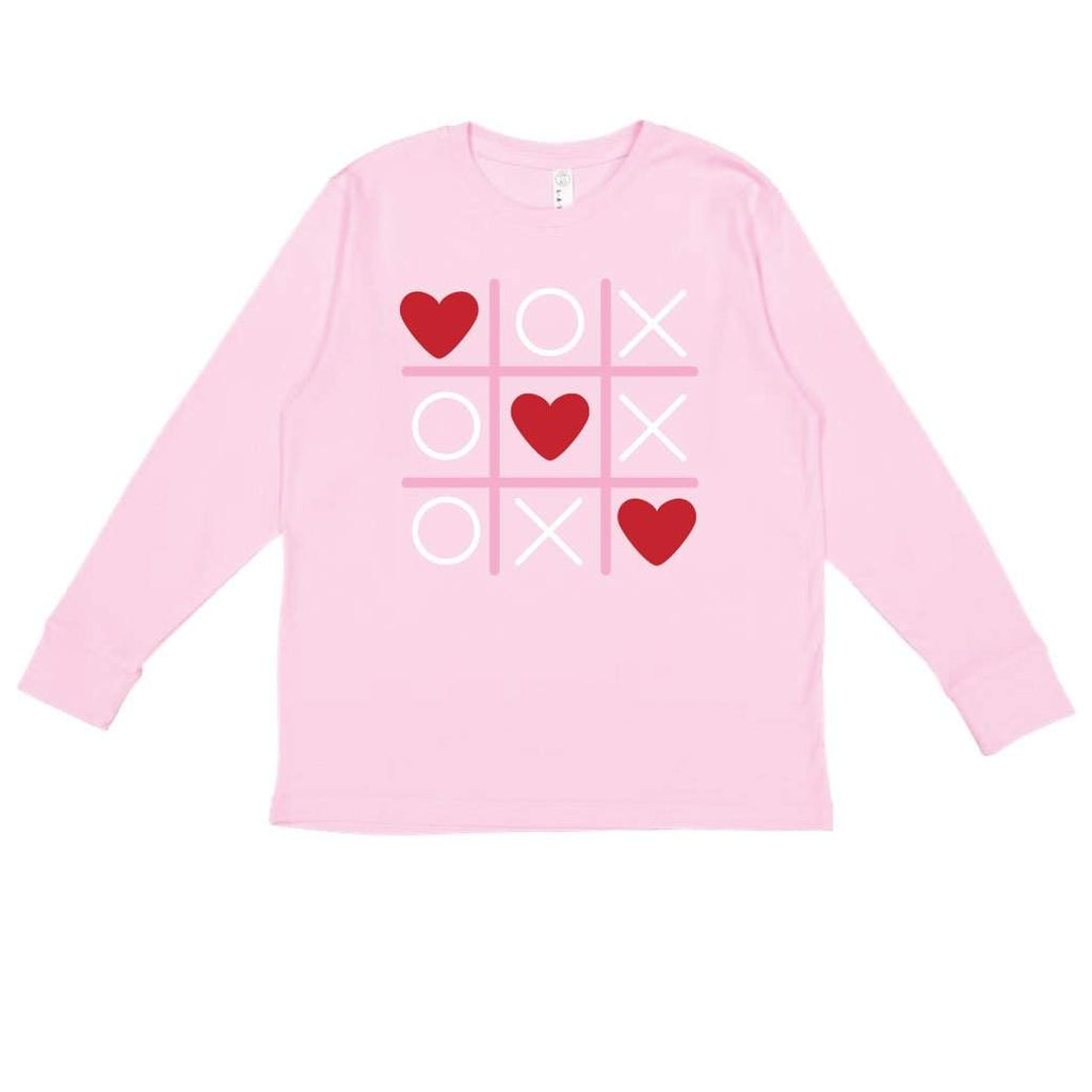 Tic Tac Heart Long Sleeve Tee
