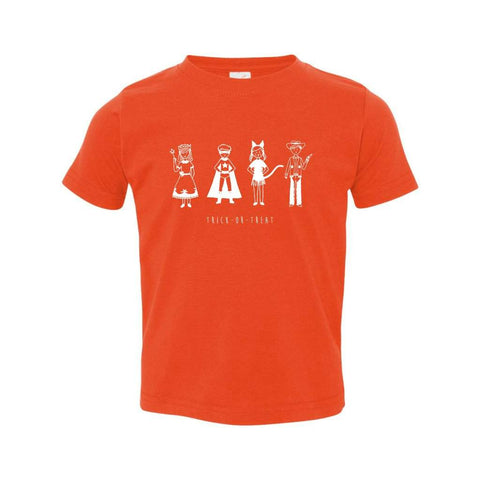 Trick or Treat Short Sleeve Infant Tee