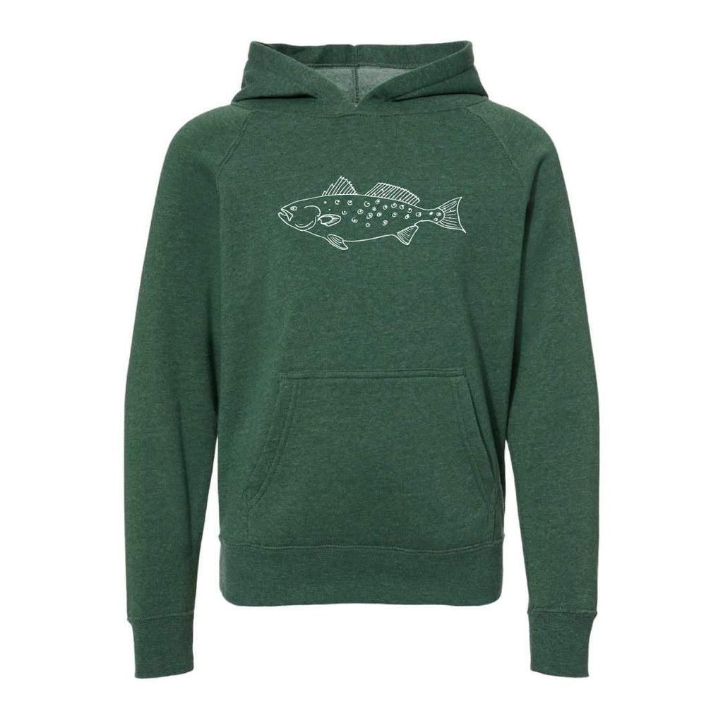 Speckled Trout Hooded Sweatshirt