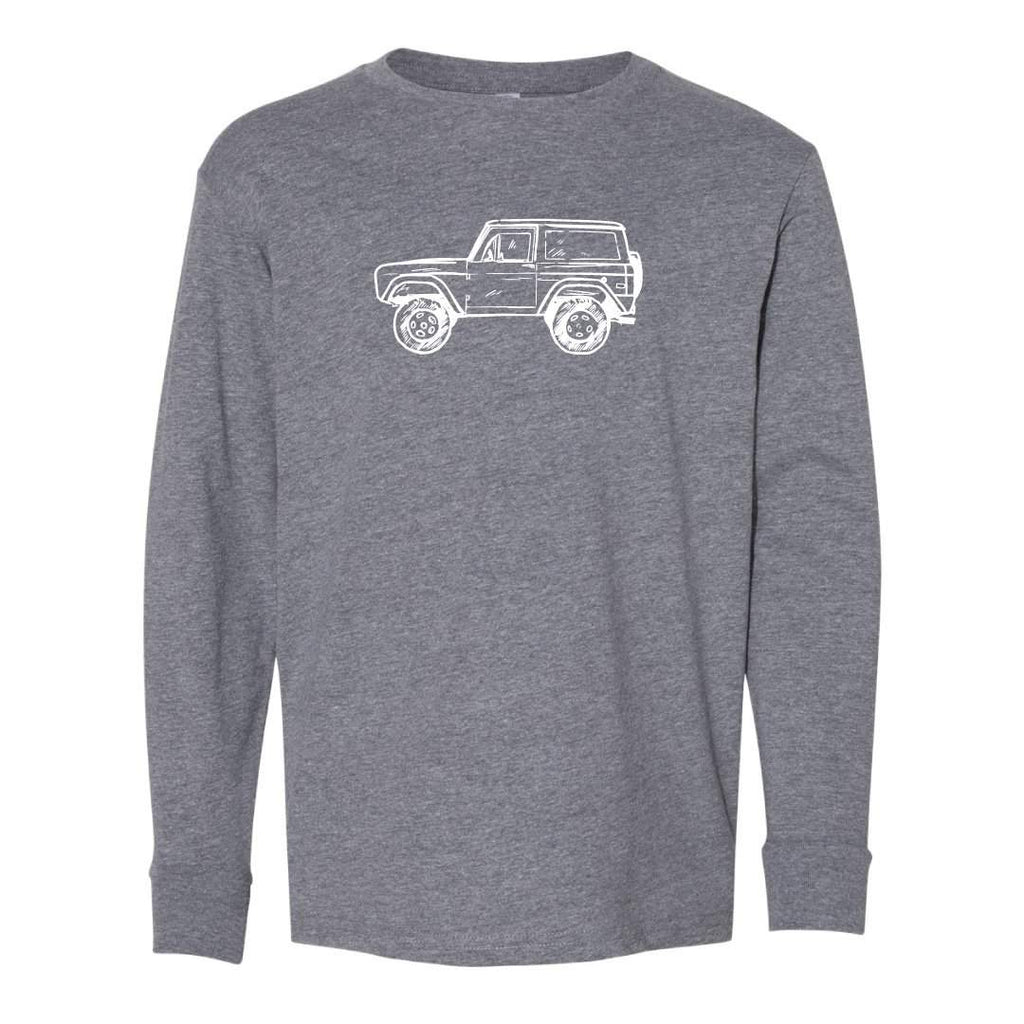 Vintage 4x4 Long Sleeve Tee