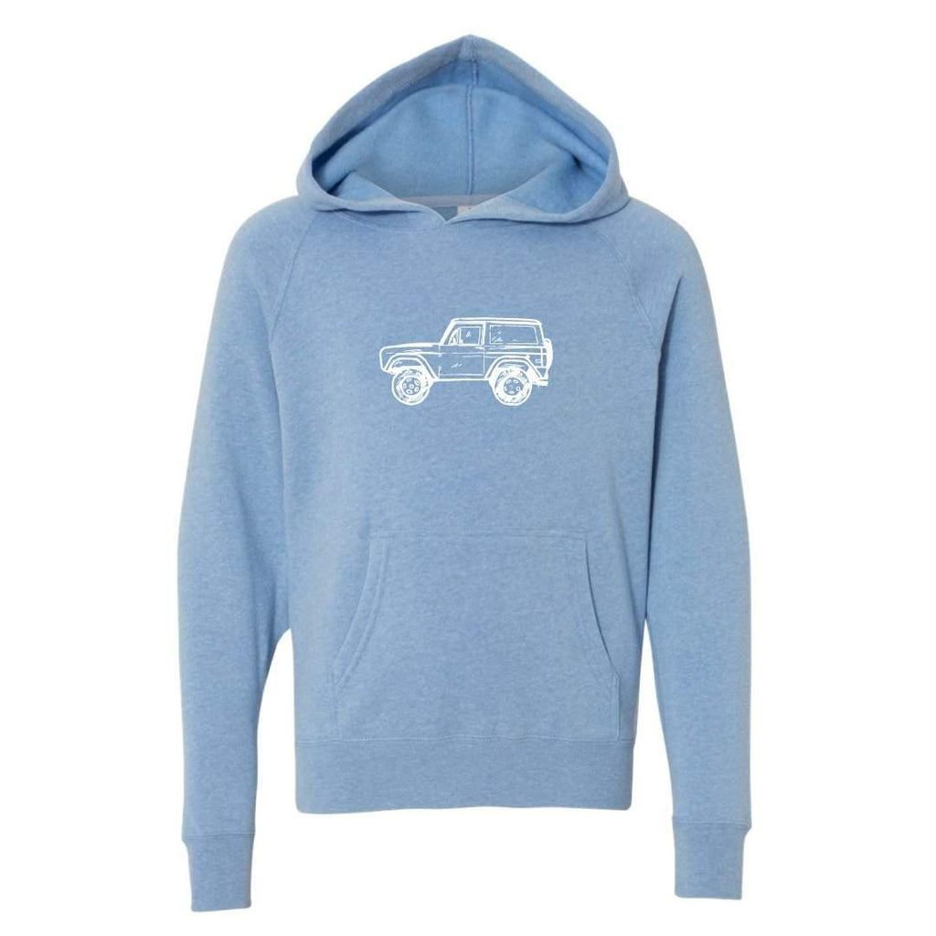 Vintage 4x4 Hooded Sweatshirt