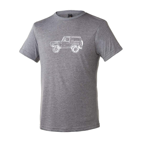 Vintage 4x4 Adult Short Sleeve Tee