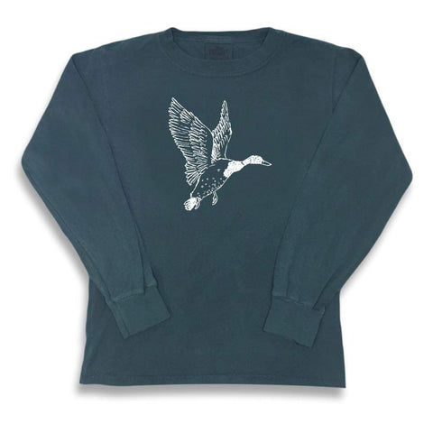 Mallard Duck Long Sleeve Tee
