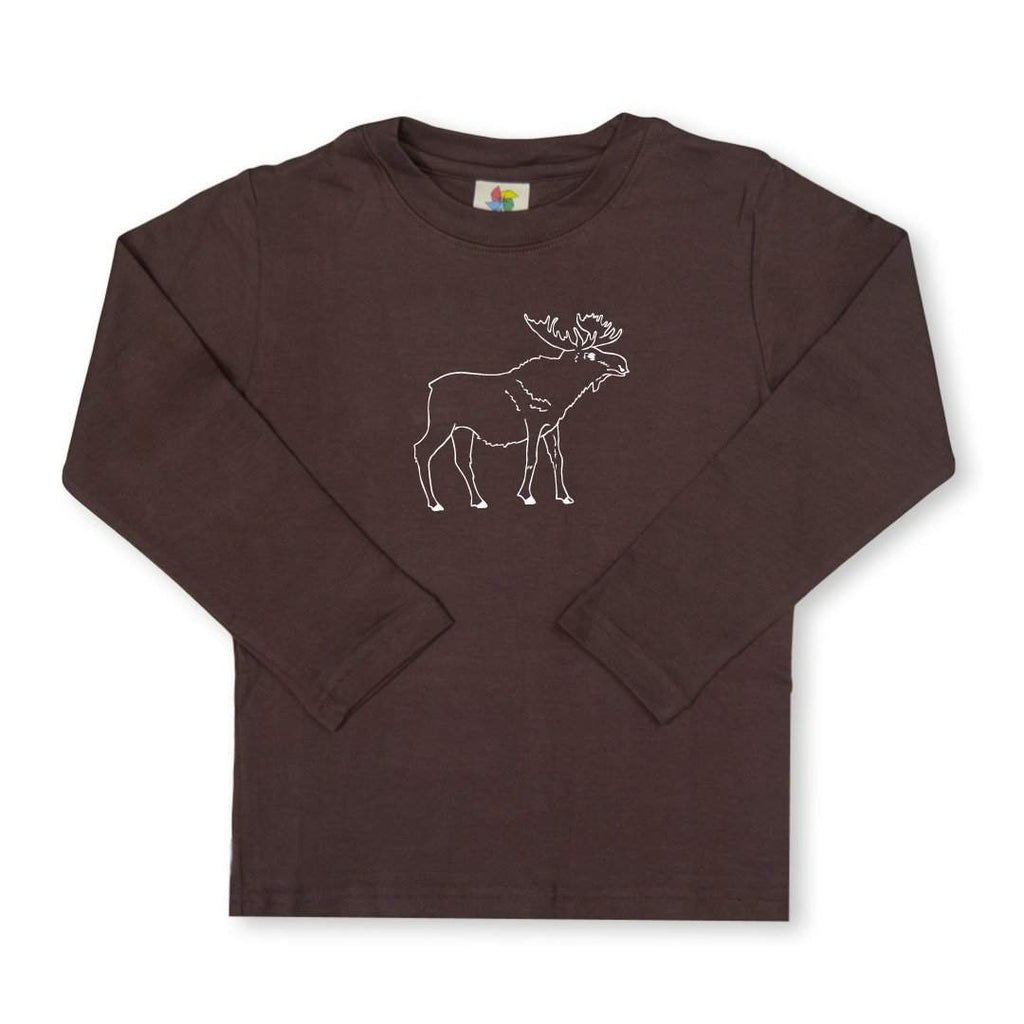 Moose Long Sleeve Tee HBT