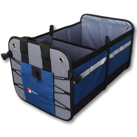 Car Trunk Organizer Blue