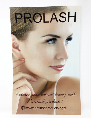 ProLash Poster for marketing/training
