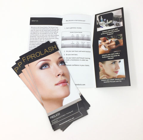 Training Information Pamphlet by ProLash