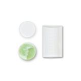 LASH AND/OR GLUE PLATES:  U Crystal, Small Crystal and Jade Plate