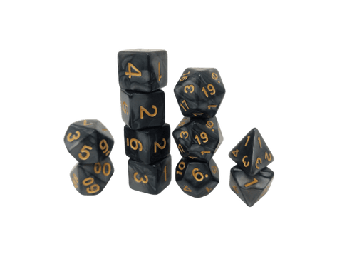 11 piece DnD Dice sets are a great place to start your Dungeons and Dragons collection