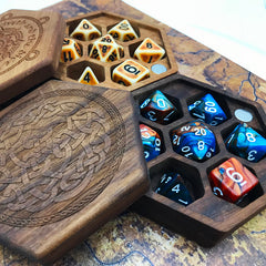 DND Dice Set Composition