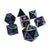 Prismatic Void - 7 Piece Metal Dice Set
