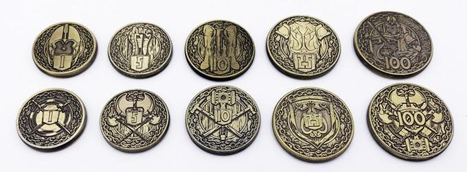 Adventure Coins Fighter Class Coins 10 Pack By Norse Foundry D20 Collective Norse foundry is raising funds for legacy of mana: d20 collective