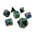 Prismatic Steel - 7 Piece Chromatic Metal Dice Set