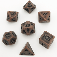 DnD-Ancient Copper - Hedronix-Dice-Dungeons and Dragons-D20 Collective