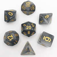 DnD-Black Storm - Hedronix-Dice-Dungeons and Dragons-D20 Collective