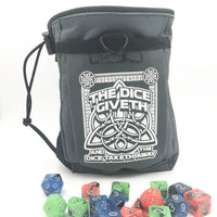 DnD-Dice Giveth and Taketh Deluxe Dice Bag-Dice Bags-Dungeons and Dragons-D20 Collective