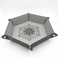 DnD-Dice Giveth Collapsible 6 Sided Dice Tray-Dice Tray-Dungeons and Dragons-D20 Collective