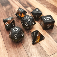 DnD-Forgotten Amber-Dice-Dungeons and Dragons-D20 Collective