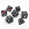 DnD-Forgotten Ruby-Dice-Dungeons and Dragons-D20 Collective
