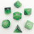 Gradient Jade - Hedronix-DnD-Dice-Dungeons and Dragons-D20 Collective