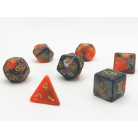 DnD-Lava - Hedronix-Dice-Dungeons and Dragons-D20 Collective