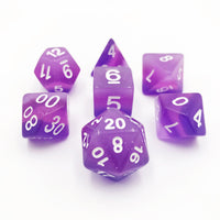 DnD-Lavender Cascade - Hedronix-Dice-Dungeons and Dragons-D20 Collective