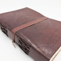 Necromancer Adventurer's Leather Journal - DnD Notepad-DnD-Journal-Dungeons and Dragons-D20 Collective
