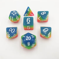 DnD-Neon Horizon - Glow in the Dark-Dice-Dungeons and Dragons-D20 Collective