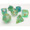 DnD-Oceanic Emerald - Hedronix-Dice-Dungeons and Dragons-D20 Collective