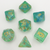 Oceanic Emerald - Hedronix-DnD-Dice-Dungeons and Dragons-D20 Collective
