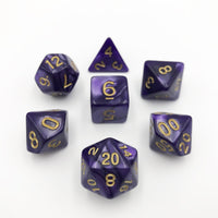DnD-Purple Emulsion - Hedronix-Dice-Dungeons and Dragons-D20 Collective