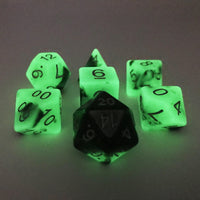 DnD-Radiant Grove - Glow in the Dark-Dice-Dungeons and Dragons-D20 Collective