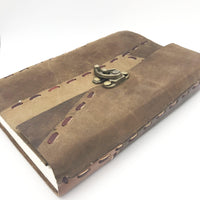 DnD-Re-animator's Stitched Leather Journal-Journal-Dungeons and Dragons-D20 Collective