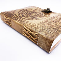 DnD-Spellcrafter's Leather Journal-Journal-Dungeons and Dragons-D20 Collective
