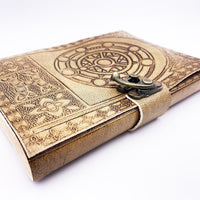Spellcrafter's Leather Journal - DnD Notepad-DnD-Journal-Dungeons and Dragons-D20 Collective