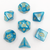 Vaporous Blue - Hedronix-DnD-Dice-Dungeons and Dragons-D20 Collective